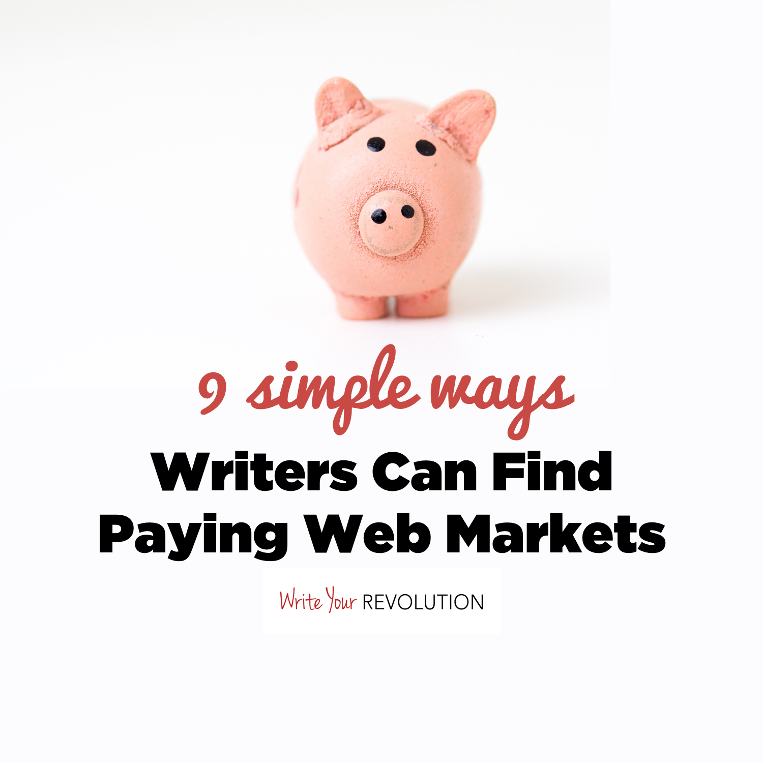 9 Simple Ways Writers Can Find Paying Web Markets
