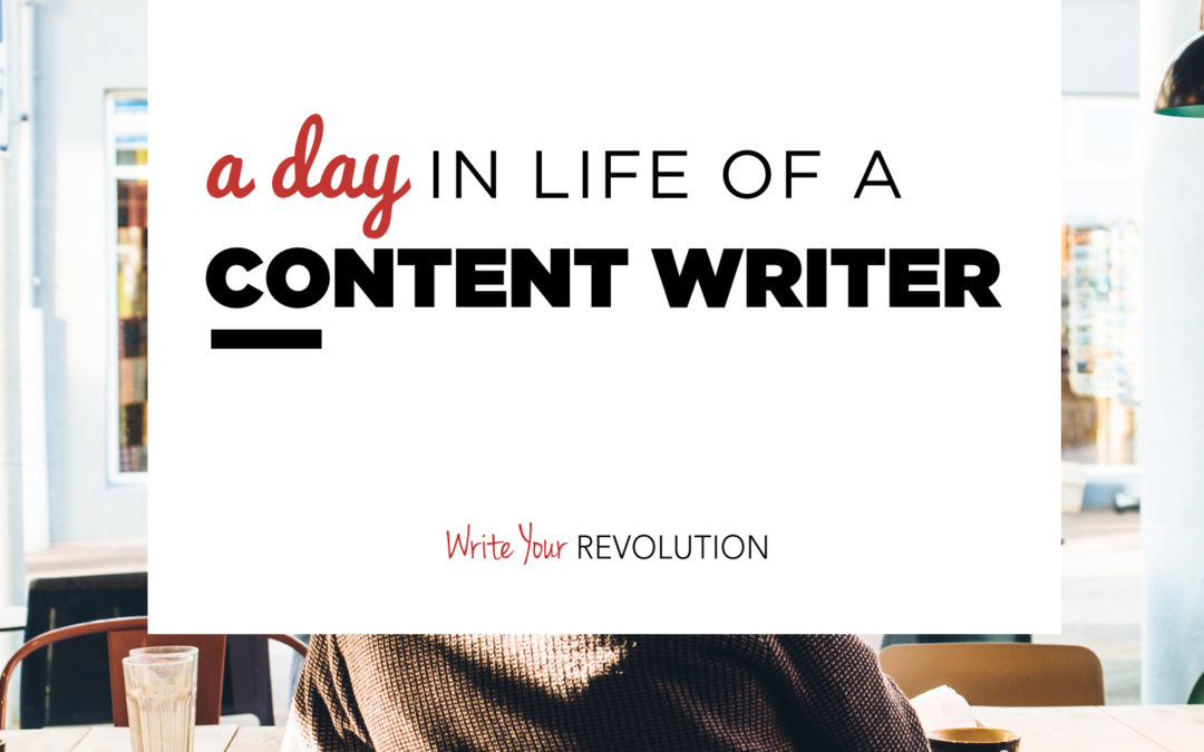A Day in the Life of a Web Content Writer