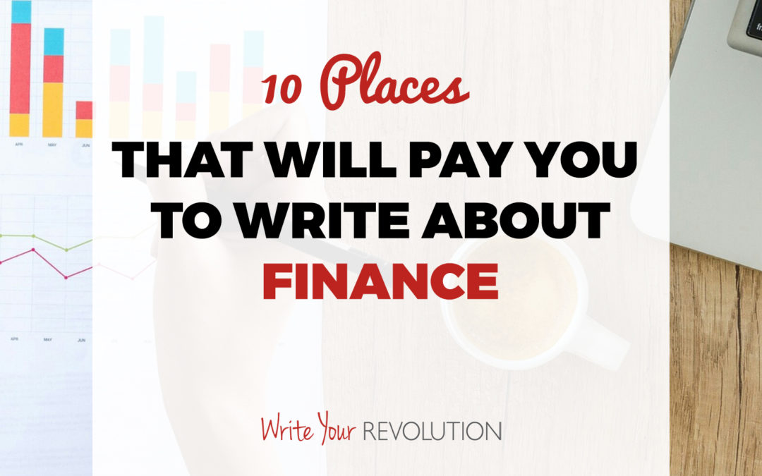 10 Places That Will Pay You to Write About Finance