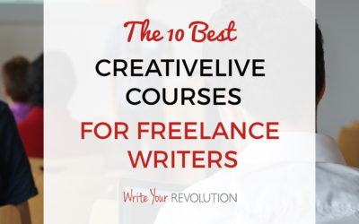 The 10 Best CreativeLive Courses for Freelance Writers